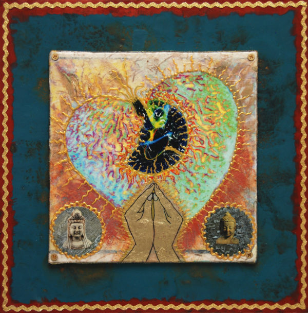 Heart Passages: 2 Heart-Mind-of-Peace, art under $333 at DebbieMathewArt.com