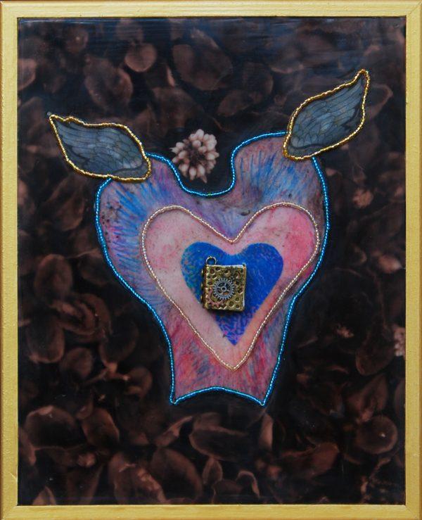 Book of Love, art under $333 at DebbieMathewArt.com
