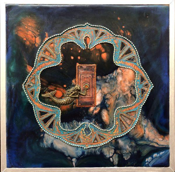 Door of Inspieration, art under $333 at DebbieMathewArt.com