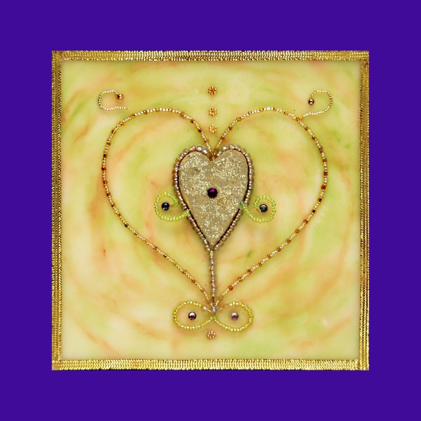 Infinite Heart, art under $333 at DebbieMathewArt.com